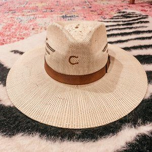 Charlie1Horse Mexico Shore Straw Hat Wanted Coll.